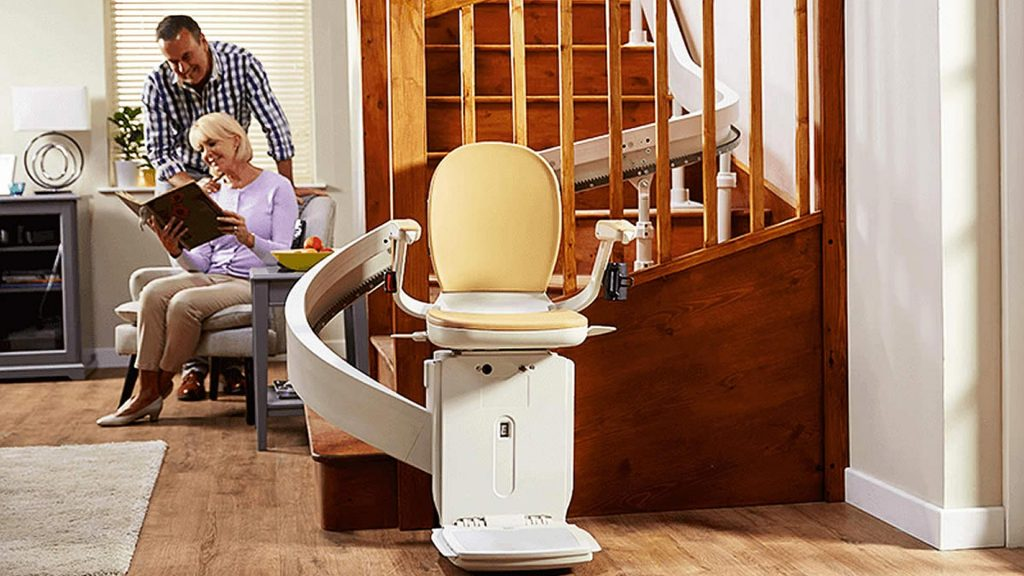 Curved Rail Stairlifts in Sussex